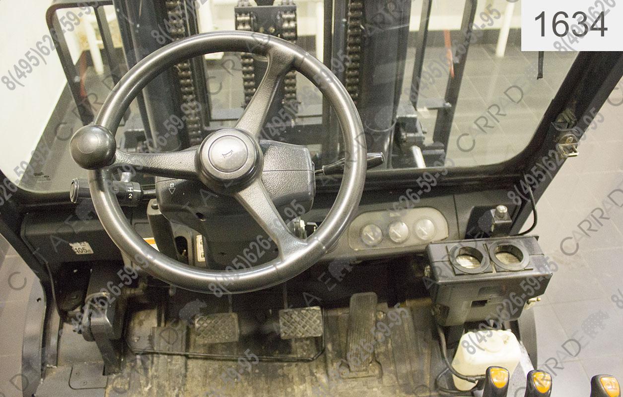 Вилочный Автопогрузчик Doosan D50SC-5 CAB 1634 бу ...